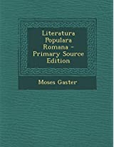 Literatura Populara Romana