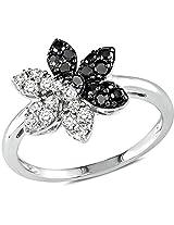 Kiara Swarovski Signity Sterling Silver Ash Ring KIR0672 (12)