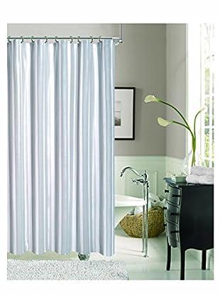 Dainty Home Carlton Shower Curtain, Silver