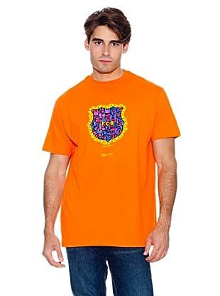 Kukuxumusu Camiseta Escudella (Naranja)