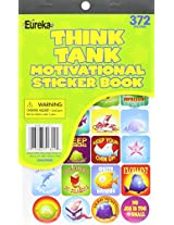 Eureka Think Tank Reward Stickers Sticker Book
