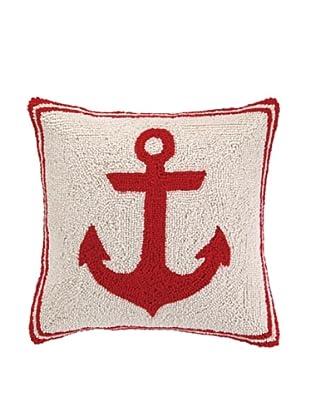 Peking Handicraft Red Anchor Hook Pillow