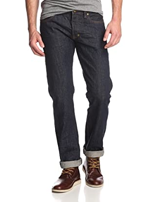 PRPS Goods & Co. Men's Barracuda Straight Leg Crinkled Selvage Jean in Rinse (Rinse)