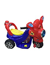 Saluja Toys Superman Bike/ Battery Operated Bike
