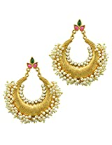 Ethnic Indian Bollywood Jewelry Set Traditional Chandni Pearl EarringsDIEA0257RG