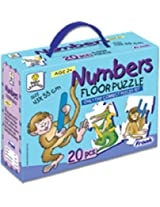 Frank Numbers Floor Puzzle