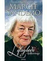 Lífsgleði: Sjálfsævisaga Margit Sandemo (Icelandic Edition)