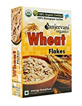 Sanjeevani Organics Wheat Flakes 250 gm