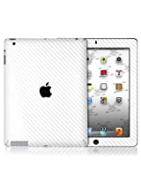 XGear EXOSkin Protective Vinyl Skin with Retina display for iPad 4 - White Carbon Fiber (IPD4-EXO-WHT)