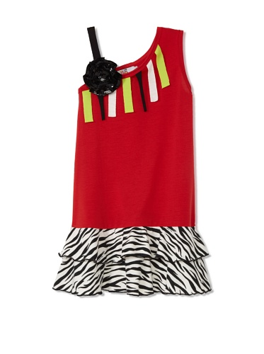 Lilo Girl's Inspired Dress (Red)