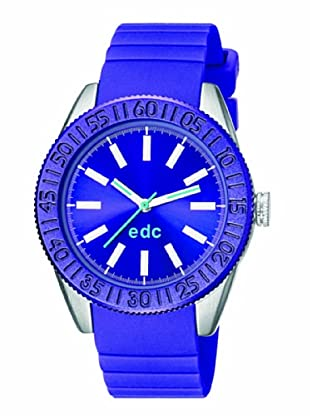 EDC Esprit Quarzuhr Vanity Wheel Ee101042003 blau 38  mm