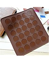 Silicone Baking Macarons Mat Cake Cookie Chocolate Molds Mould (1 Pc)