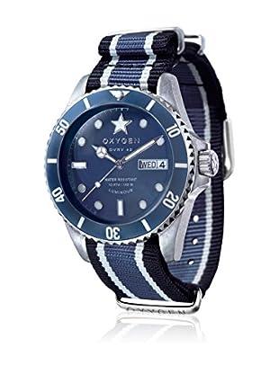 Oxygen Reloj de cuarzo Man Diver Vintage Jean  42 mm