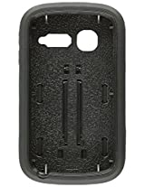Aimo Wireless Layer Case, 3 in 1 with Stand for Alcatel OneTouch POP C1 - Retail Packaging - Black