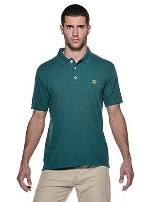Timberland Polo Liso (Verde)