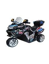 Dates Shoppe Saluja Toys Super Racer Bike Black/ Battery Operated Bike