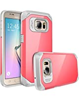 Galaxy S7 case, E LV Samsung Galaxy S7 (SHOCK PROOF DEFENDER) Slim Case Cover - Impact Protection **NEW**[Black] Ultimate protection from drops and impacts for Samsung Galaxy S7 [RED MELON/GREY]