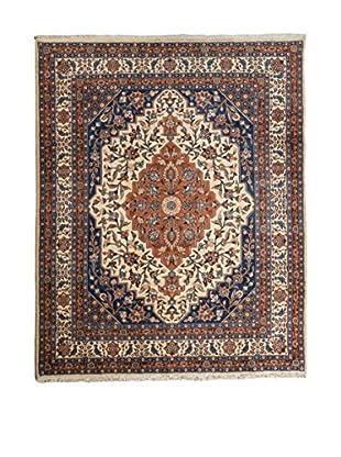 QURAMA Teppich Persian Veramin blau/elfenbein/camel