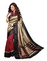 Bhavi Creations Presents Printed Venkatagiri Silk Saree