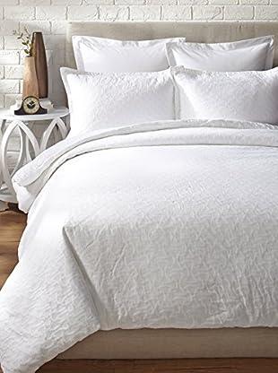 Trina Turk Santorini Matelasse Comforter Set (White)