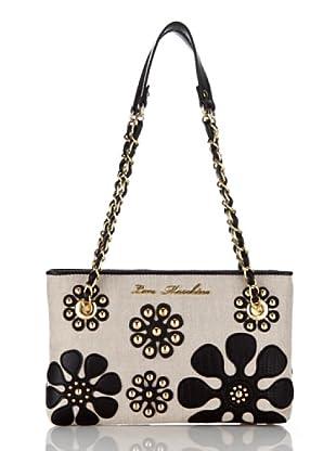 Love Moschino Handtasche Canvas (Schwarz)