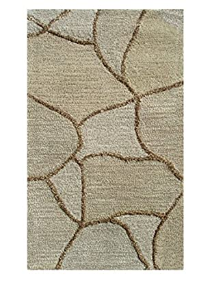 Pop Accents Rhodes Scatter Rug, Cream, 16