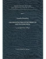 Grammatisches Worterbuch Des Estnischen (Veroffentlichungen Der Societas Uralo-Altaica)