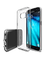 Galaxy S7 Case, Ringke [FUSION AIR] Weightless as Air, Extreme Lightweight Ultra-Thin Transparent Soft Flexible TPU Scratch Resistant Protective Case for Samsung Galaxy S7 - Crystal View