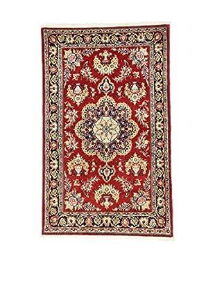 L'Eden del Tappeto Teppich Qom Sh rot/mehrfarbig 162t x t100 cm