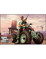 Grand Theft Auto 5 Action Game Poster from Art Stick