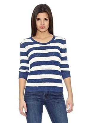 Springfield Jersey Bs-Tapeyarn Stripes (Azul)
