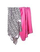 Summer Infant SwaddleMe Muslin Blanket, Zebra Diva
