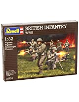 Revell Assembly Model Kit - British Infantry WWII 1:32 Scale