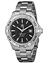 TAG Heuer Men's WAP2010BA0830 Aquaracer Black Dial Watch