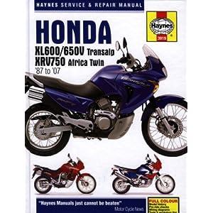 【クリックで詳細表示】Honda XL600/650V Transalp & XRV750 Africa Twin '87 to '07 (Haynes Service & Repair Manual): John H Haynes: 洋書