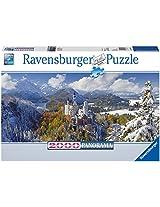 Ravensburger Puzzles Neuschwanstein, Multi Color (2000 Pieces)