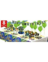 Teenage Mutant Ninja Turtles Super Party Kit For 8