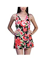 Floral Print Cover Up_XXL