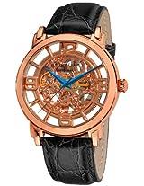 Stuhrling Original Lifestyles Analog Gold Dial Men's Watch - 165B.334514