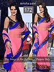 Amisha Patel Indian Bollywood Designer Party Wear Ethnic Women Saree, Sari - Pink