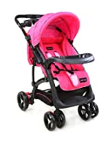 LuvLap Sports Baby Stroller (Pink/Black)