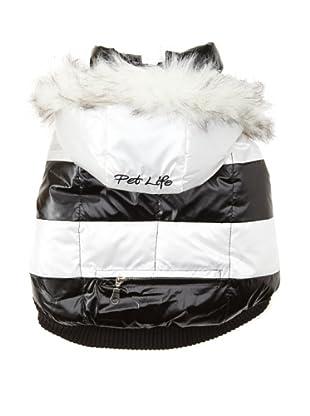 Pet Life Sporty Parka (White/Black)