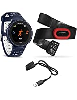 Garmin Forerunner 630 GPS Smartwatch w/ HRM-Run - Midnight Blue - Charging Clip Bundle includes Forerunner 630 GPS, HRM-Run and Charging Clip