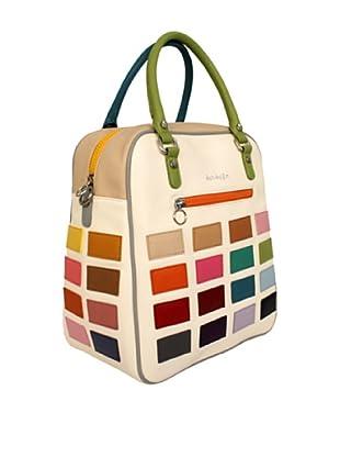 Davidelfín Bolso David Bag (Blanco / Multicolor)
