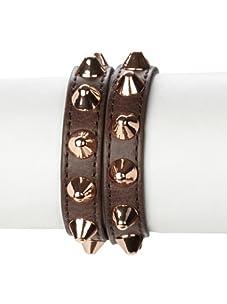 Rebecca Minkoff Smoke Double-Wrap Pointy Stud Bracelet
