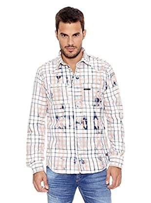 Pepe Jeans London Camisa Hombre Firestone (Blanco)