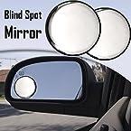 Speedwav Car Blind Spot Convex Side Rear View Mirror Black