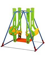Eduplay - Double Swing Green And Multi Colour