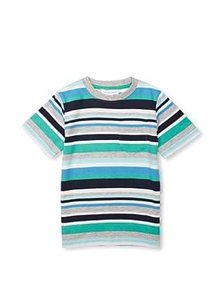 Pumpkin Patch Camiseta Stripe (Multicolor)
