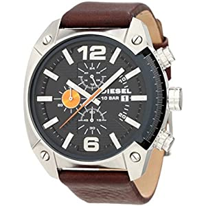 Diesel Analog Black Dial Men's Watch - DZ4204